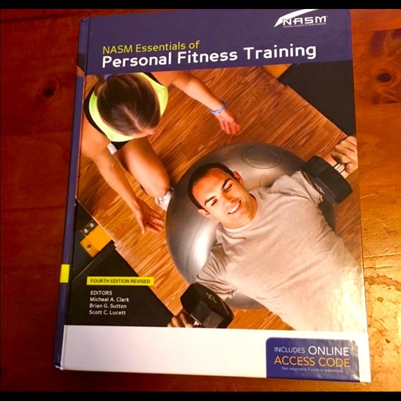 NASM - CPT Hardcover Book 4th edition NEW